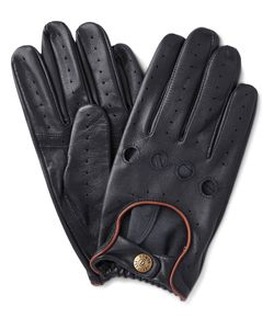 DENTS | Delta Leather Driving Gloves Blue