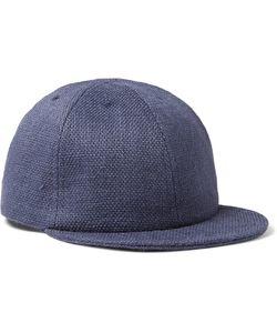Larose | Jute Baseball Cap Blue