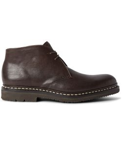 Heschung | Genet Leather Chukka Boots Brown