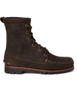 Quoddy | Grizzly Chamois Nubuck Boots Brown