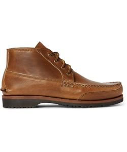 Quoddy | Telos Cavalier Leather Chukka Boots Brown