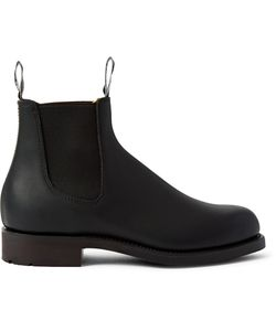R.M. Williams | Gardener Whole-Cut Leather Chelsea Boots Black