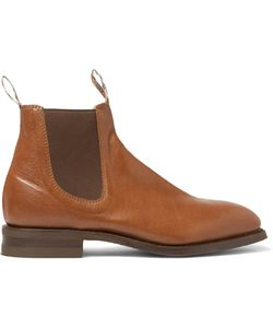 R.M. Williams | Leather Chelsea Boots Brown