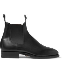 R.M. Williams | Leather Chelsea Boots Black