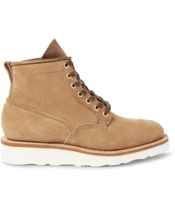 Viberg | Scout Roughout-Leather Boots Brown