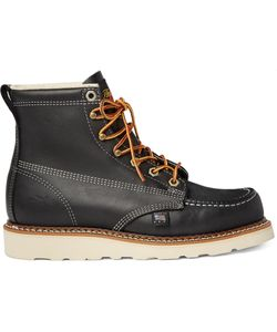THOROGOOD | Oil-Tanned Leather Boots Black