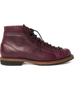 THOROGOOD | Portage Leather Boots Burgundy