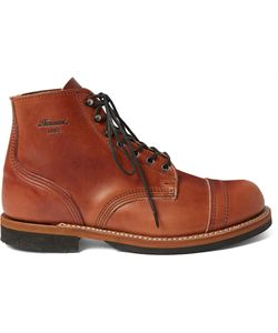 THOROGOOD | Dodgeville Leather Boots Brown