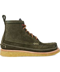 Yuketen | Maine Guide 6-Eye Db Leather Boots Green