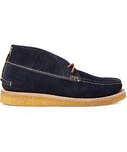 Yuketen | Maine Guide Leather Desert Boots Blue