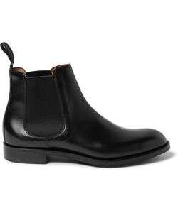 CHEANEY | Godfrey Leather Chelsea Boots Black
