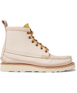 Yuketen   Maine Guide Waxed-Leather Boots Neutrals