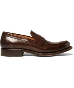 O'Keeffe | Cambridge Polished-Leather Loafers Brown