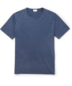 Handvaerk | Pima Cotton T-Shirt Blue