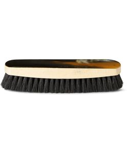 Abbeyhorn | Horn And Boar Bristle Brush Black