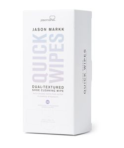 Jason Markk | Quick Wipes 30 Sheets White