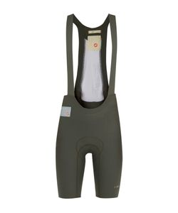Chpt./ | 1.11 Padded Cycling Bib Shorts Green