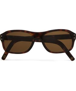 Kingsman | Cutler And Gross Square-Frame Tortoiseshell Acetate Sunglasses Tortoiseshell