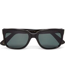 Kingsman | Cutler Gross Square-Frame Acetate Sunglasses Black