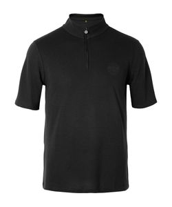 Iffley Road | Sidmouth Dri-Release Half-Zip Running T-Shirt Black