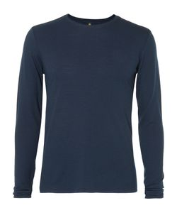 Iffley Road   Sandown Merino Wool-Blend Base Layer Blue