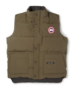 Canada Goose | Freestyle Shell Down Gilet Green