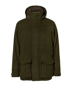 Musto Shooting | Whisper Faux Suede Gore-Texreg Shooting Jacket Green