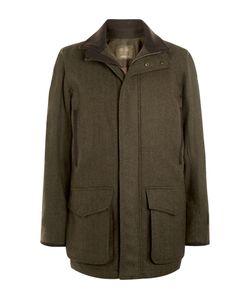 Musto Shooting | Waterproof Wool-Blend Tweed Jacket Green