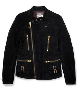 Blackmeans | Suede Biker Jacket Black