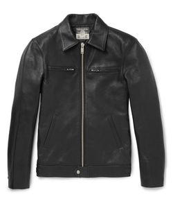 Blackmeans | Leather Jacket Black