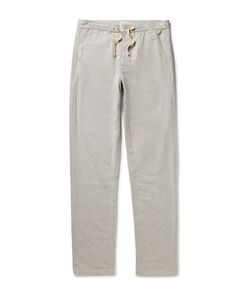 Oliver Spencer Loungewear | Lux Cotton-Flannel Trousers Gray