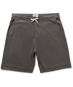 Oliver Spencer Loungewear | Comfort Supima Cotton-Jersey Shorts Gray