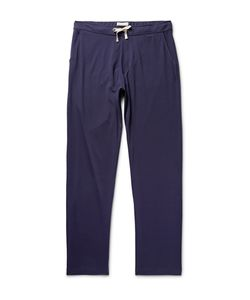Oliver Spencer Loungewear | Comfort Supima Cotton-Jersey Trousers Blue