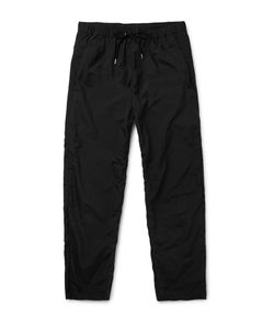 TEATORA | Beams Shell Trousers Black