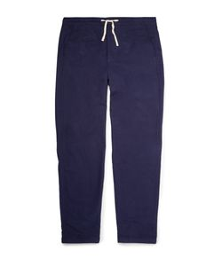 Oliver Spencer Loungewear | Cotton-Flannel Trousers Blue