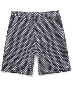 Sasquatchfabrix | Sashiko Cotton Shorts Blue