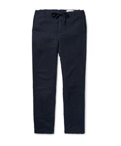 OUTERKNOWN | Touring Tapered Linen And Tencelreg-Blend Trousers Blue