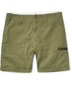 Neighborhood | Slim-Fit Cotton-Ripstop Shorts Green