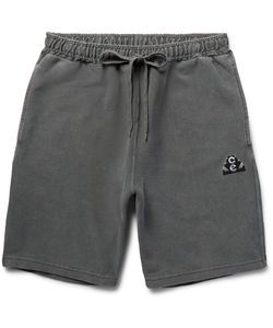 CAV EMPT | Overdyed Cotton-Jersey Shorts Gray
