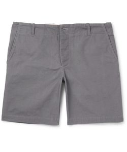 Freemans Sporting Club | Cotton-Ripstop Shorts Gray