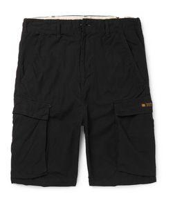 Neighborhood | Cotton-Ripstop Cargo Shorts Black
