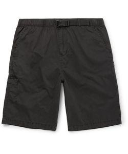 Stüssy | Washed-Cotton Shorts Black