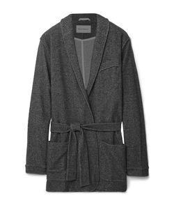Oliver Spencer Loungewear | Fleece Robe Gray