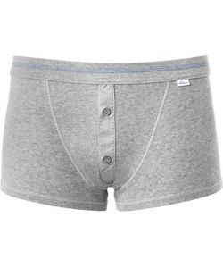Schiesser | Cotton-Jersey Boxer Briefs Gray