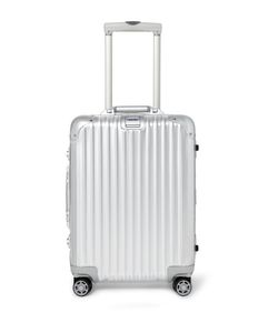 Rimowa | Topas Multiwheel 55cm Carry-On Case Silver