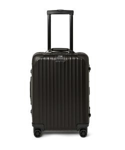 Rimowa | Topas Stealth Cabin Aluminum 55cm Carry-On Case Black
