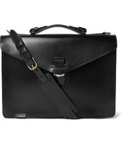 Tarnsjo Garveri   Icon Leather Briefcase Black