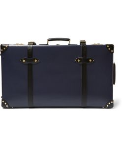 Globe-Trotter | Spectre 30 Leather-Trimmed Suitcase Blue