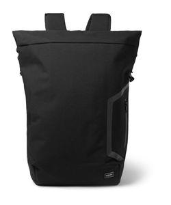 DESCENTE | Porter Canvas Backpack Black