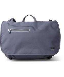 DESCENTE | Porter Canvas Messenger Bag Gray